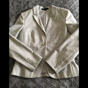 Express Heather Gray Suite Jacket Size 10